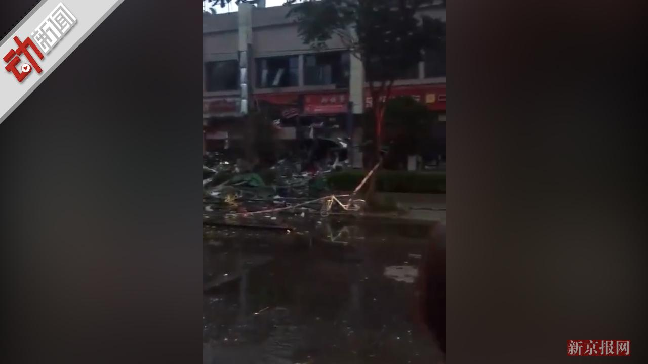 南昌一市场突发大火